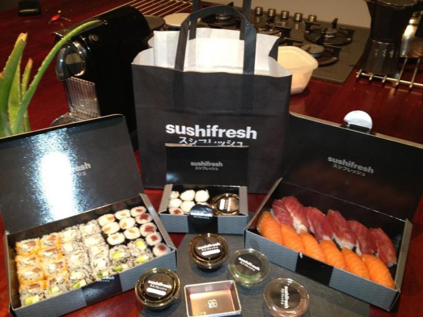El mejor sushi a domicilio de Barcelona con Sushifresh