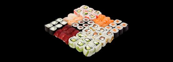 Bandejas de sushi para compartir