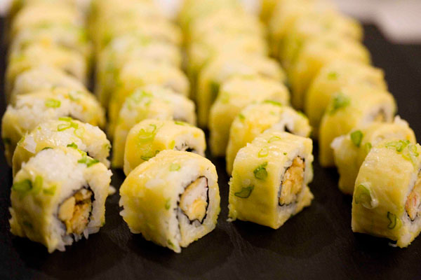 Celebra tu boda con sushi