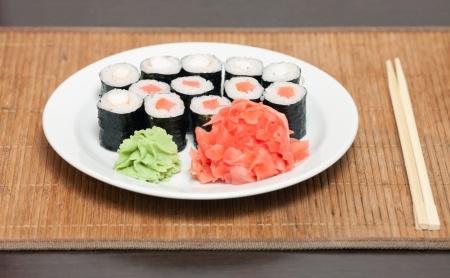 Tipos de algas para sushi