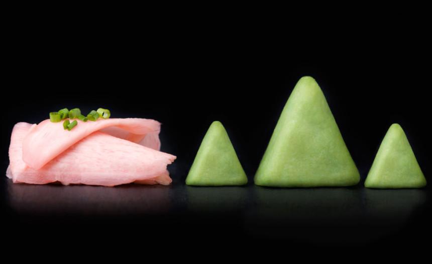 Principales acompañamientos para sushi