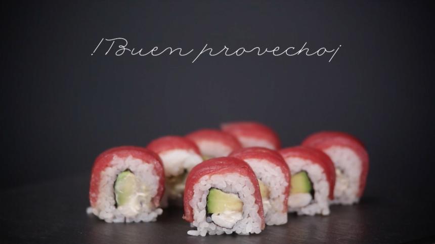 Nuestra receta especial de uramaki de atún