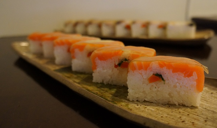 Oshizushi: El sushi desconocido